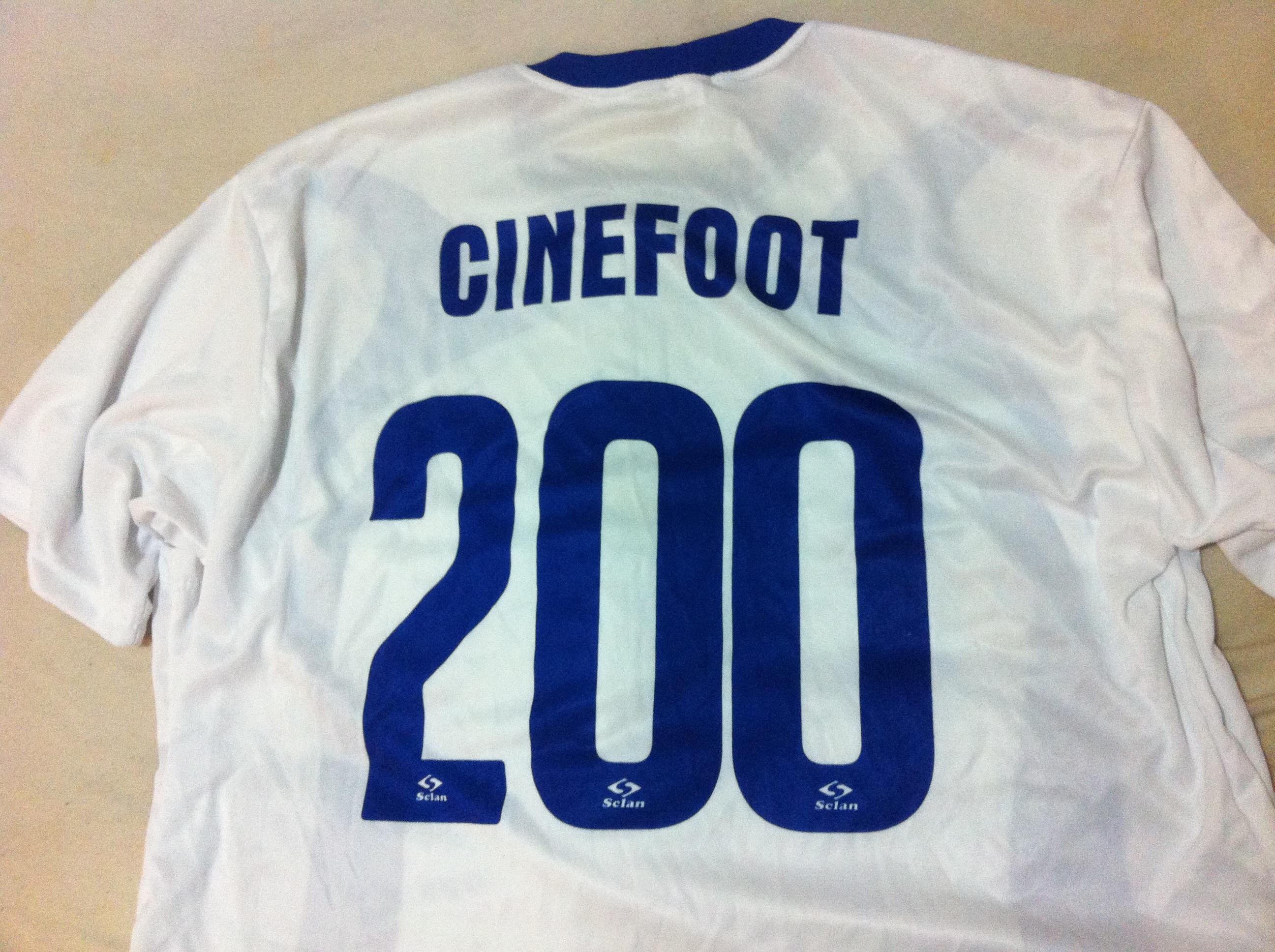Faltam 200 dias para o CINEfoot 2015! Faça parte dessa torcida!