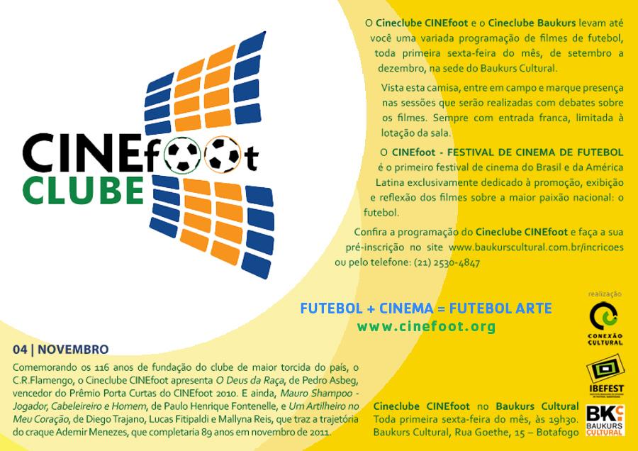CINEclube 2011 - Saiba como foi a penúltima sessão do ano