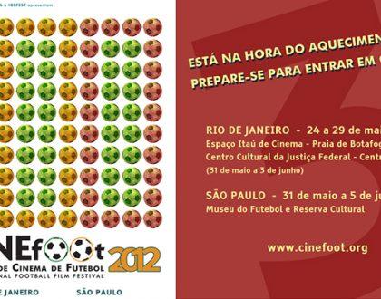 CINEfoot divulga a lista de convocados 2012