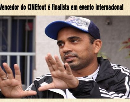 Vencedor do cinefoot é finalista em evento internacional
