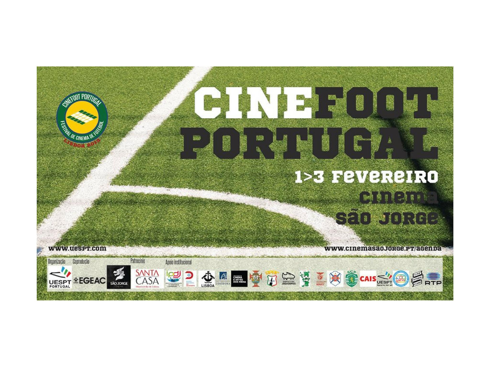 CINEFOOT PORTUGAL - 1 A 3 DE FEVEREIRO