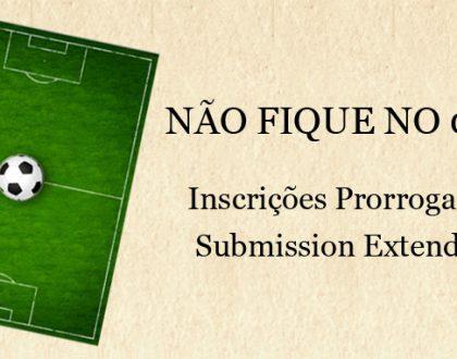 Não fique no 0 x 0!! Inscrições prorrogadas para o CINEfoot 2012