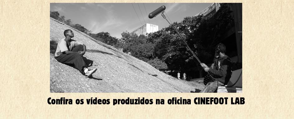 Oficinas Audiovisuais CINEFOOT-LAB
