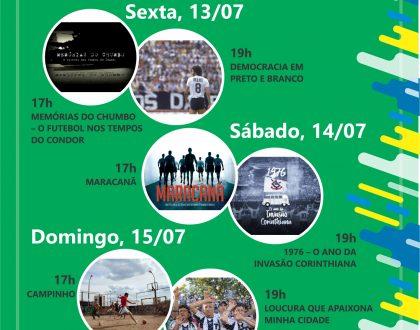 4º CINEFOOT EXTRAORDINÁRIO - ÚLTIMA SEMANA