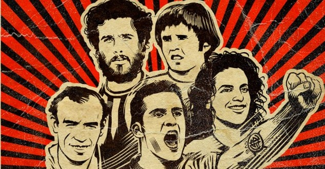 """REBELDES DO FUTEBOL"" INVADE O CINEFOOT"