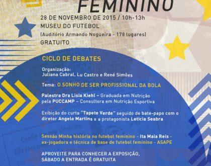 FUTEBOL FEMININO ENTRA EM CAMPO NO CINEFOOT SP