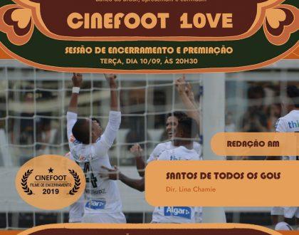 10° CINEfoot convida para Sessão de Encerramento no Rio de Janeiro