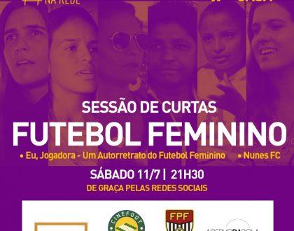 FUTEBOL FEMININO NA SESSÃO 14 DO CINEMA NA REDE