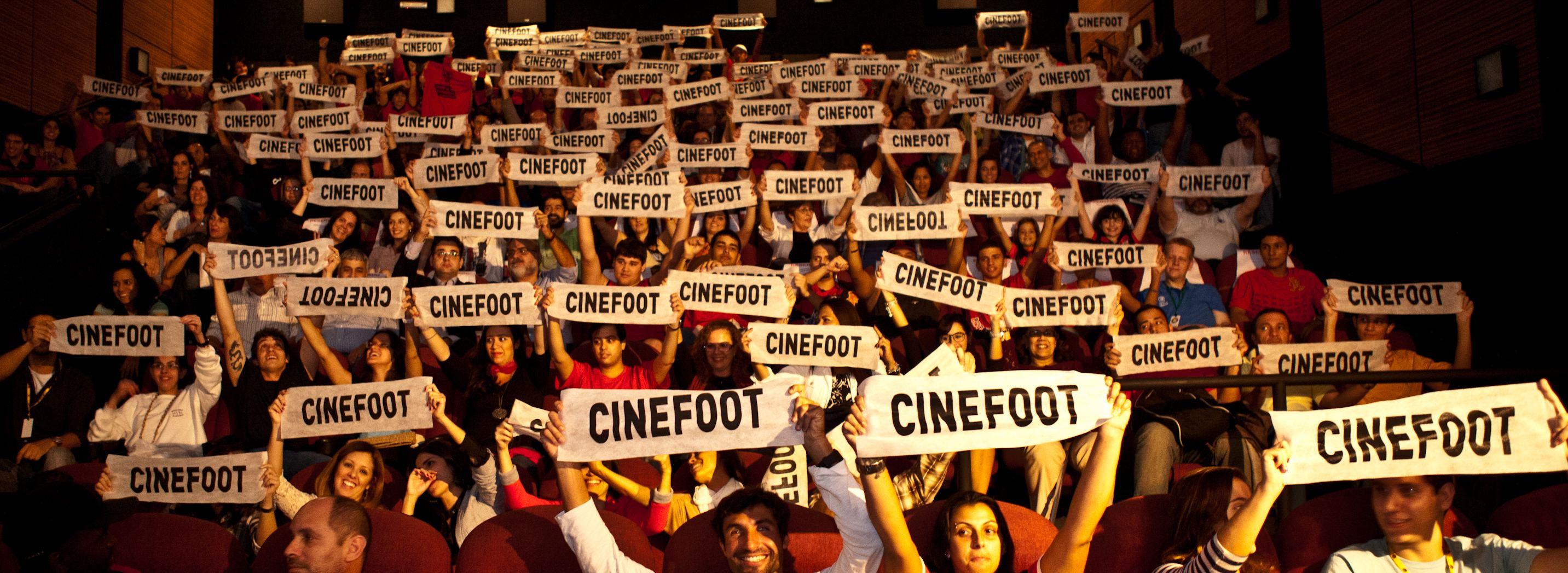 CINECLUBE CINEFOOT ON LINE MOVIMENTA A SEMANA CINEMATOGRÁFICA FUTBOLERA