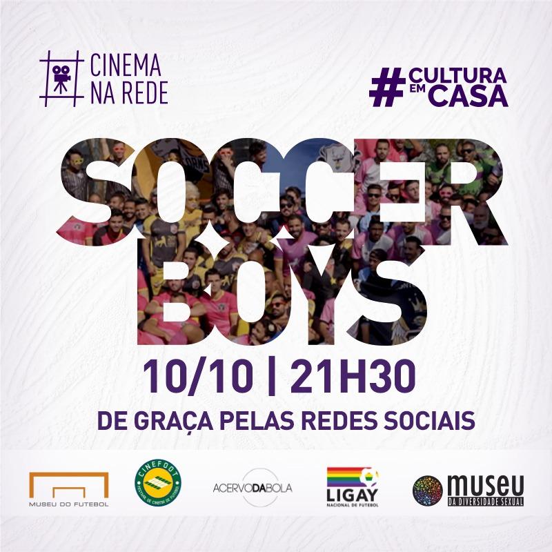 """SOCCER BOYS"" ILUMINA O UNIVERSO LGBTQIA+ NO FUTEBOL"